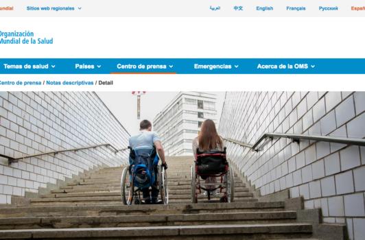 Organización Mundial de la Salud (Discapacidad)
